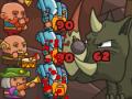 ユニットを積み上げて敵陣に攻め込む攻防シミュレーションゲーム!