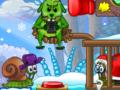 Snail Bob 6 Winter Story【カタツムリの誘導パズル】
