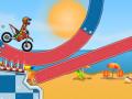 Moto X3M Pool Party【海辺のモトクロスゲーム】