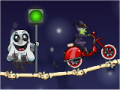 Moto X3M Spooky Land【ハロウィンのモトクロスゲーム】