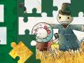Cartoon Autumn Puzzle【秋のジグソーパズル】